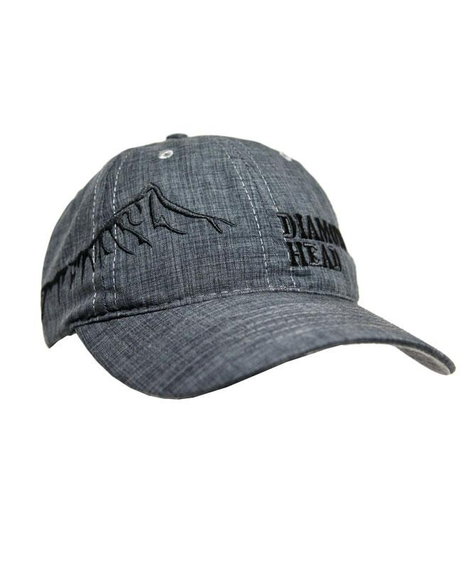 Diamond Head Hat, Dark Grey