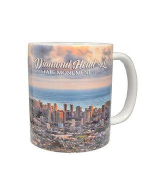 Diamond Head Sunset Mug