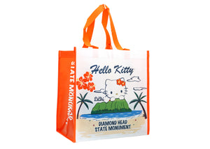 Hello Kitty Hibiscus Diamond Head Recycle Tote Bag