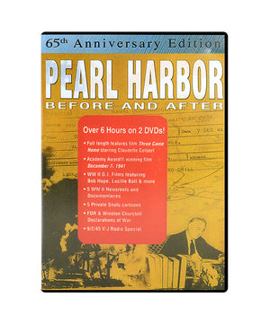 Pearl Harbor: Before and After DVD