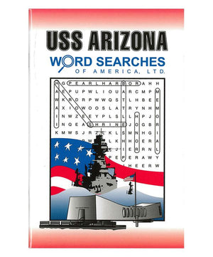 USS Arizona, Word Searches of America