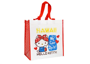 Hello Kitty Rosie We Can Do It Recycle Tote Bag