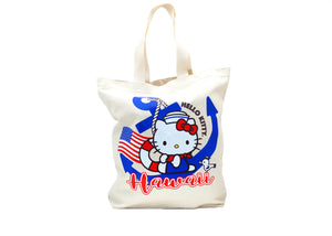 Hello Kitty Sailor Canvas Tote Bag