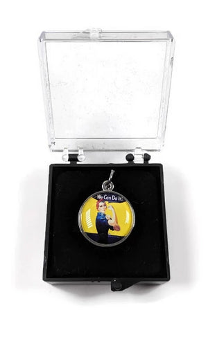 Rosie the Riveter Charm or Pendant