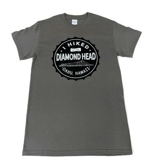 Men's I Hiked Diamond Head Shirt, Charcoal