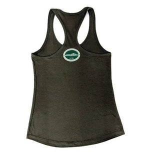 Women's Diamond Head Racerback Tank Top, Military Green