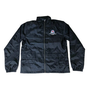 Pearl Harbor Windbreaker With Hidden Hood, Navy
