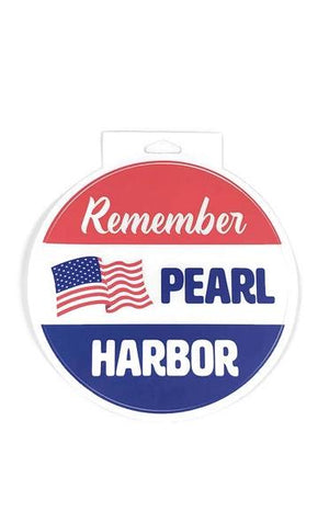 Remember Pearl Harbor Matte Die Sticker