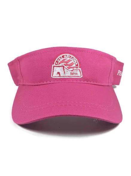 Women's Pearl Harbor Visor, Raspberry Pink