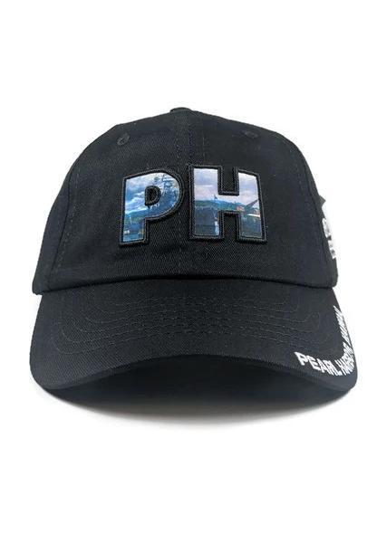 PH Letters Cap, Black