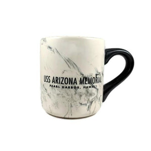 Marble USS Arizona Memorial Mug