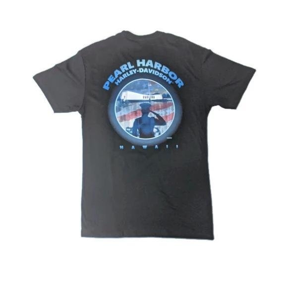 Men's Harley-Davidson Pearl Harbor Salute T-Shirt, Black
