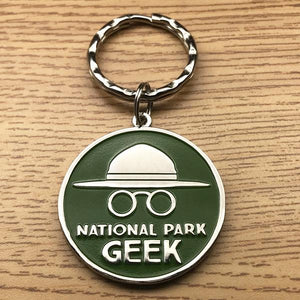 National Park Geek Keychain