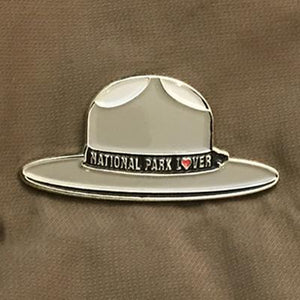National Park Geek Ranger Hat Pin