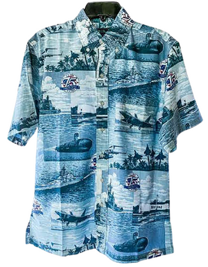 75th End of War Reyn Spooner Aloha Shirt