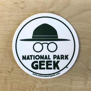 National Park Geek Sticker
