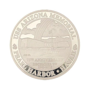 Pure silver commemoration coin