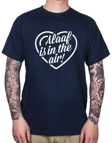 "Gaffel Sprücheshirt ""ALAAF IS IN THE AIR"", blau"