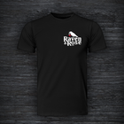 Raven & Rose Printed T Shirt Black