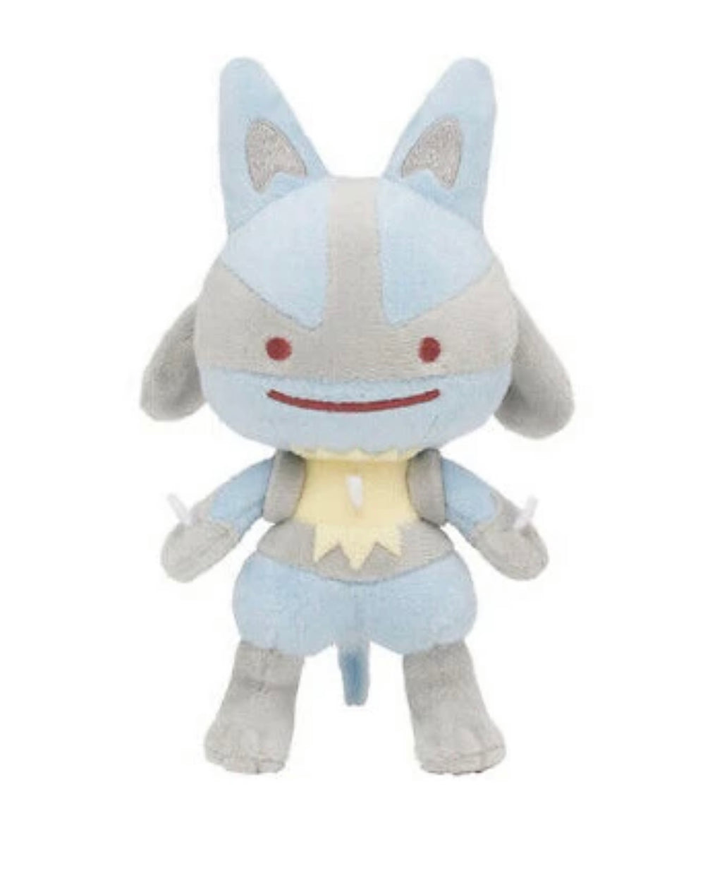 Pokémon Ditto Lucario Plush