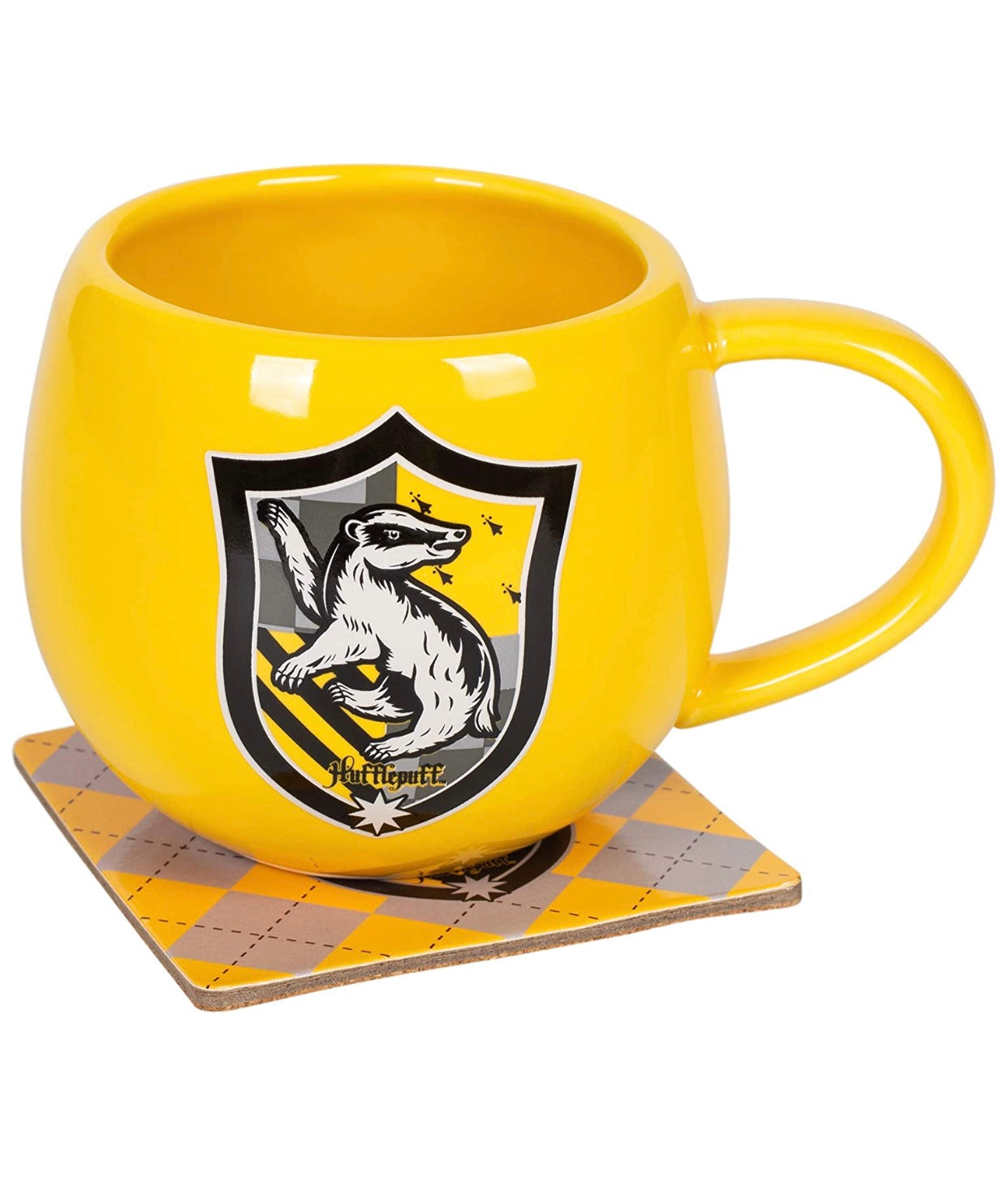 Harry Potter Hufflepuff Crest Mug Coaster
