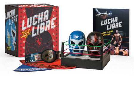Running Press Lucha Libre Mexican Thumb Wrestling Set