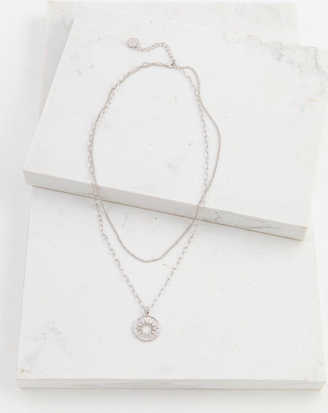 Lover's Tempo Sunburst Layered Necklace