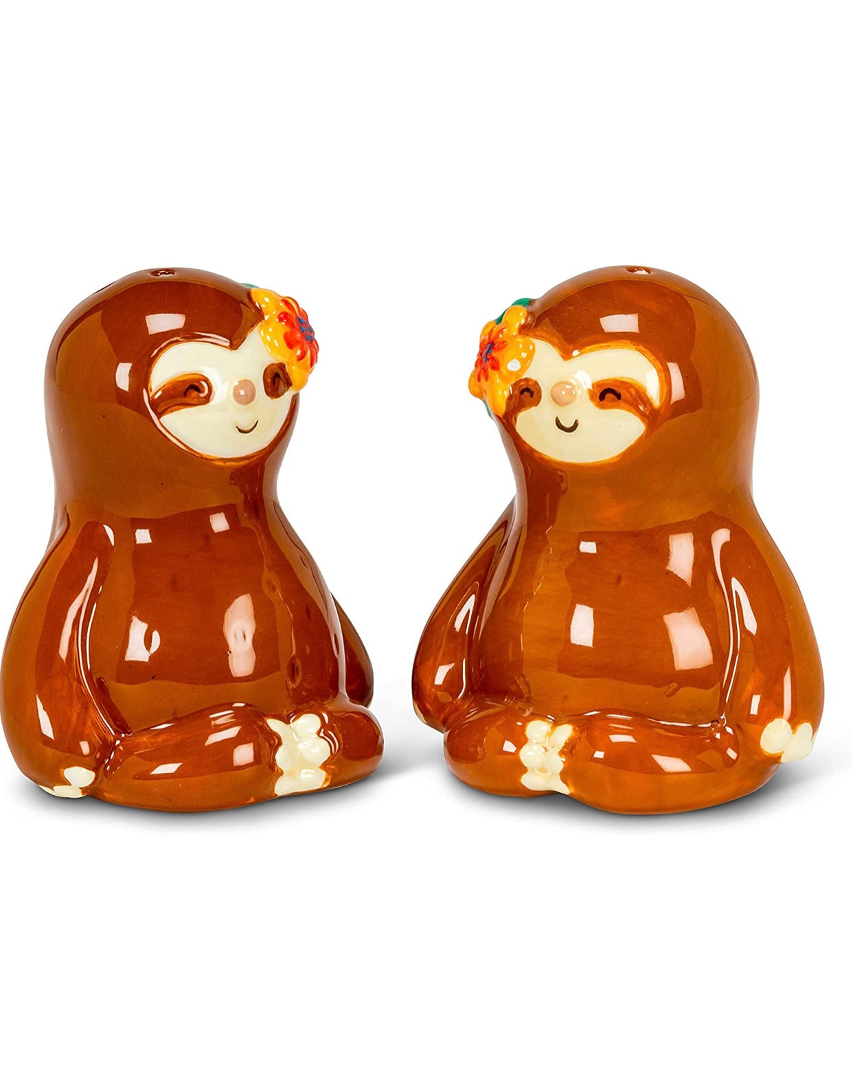 Salt & Pepper Shaker Sloth