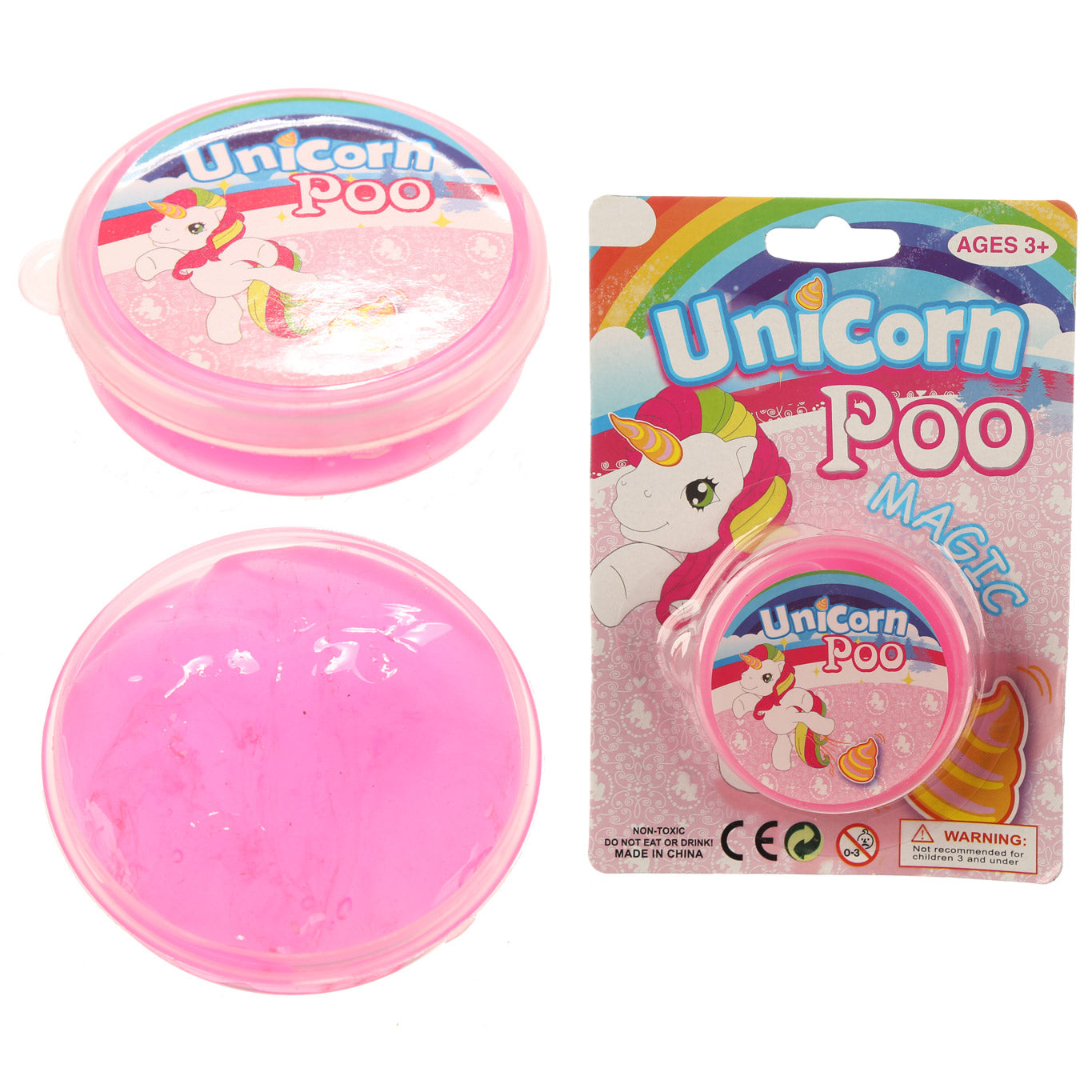 Unicorn Poop Putty