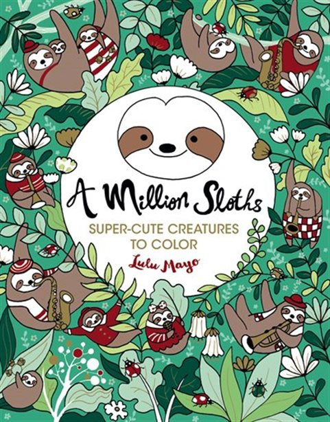 A Million Creatures Colouring Book
