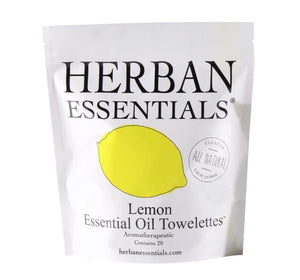 Herban Essential Lemon Towelettes