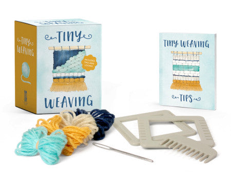 Running Press Tiny Weaving Kit