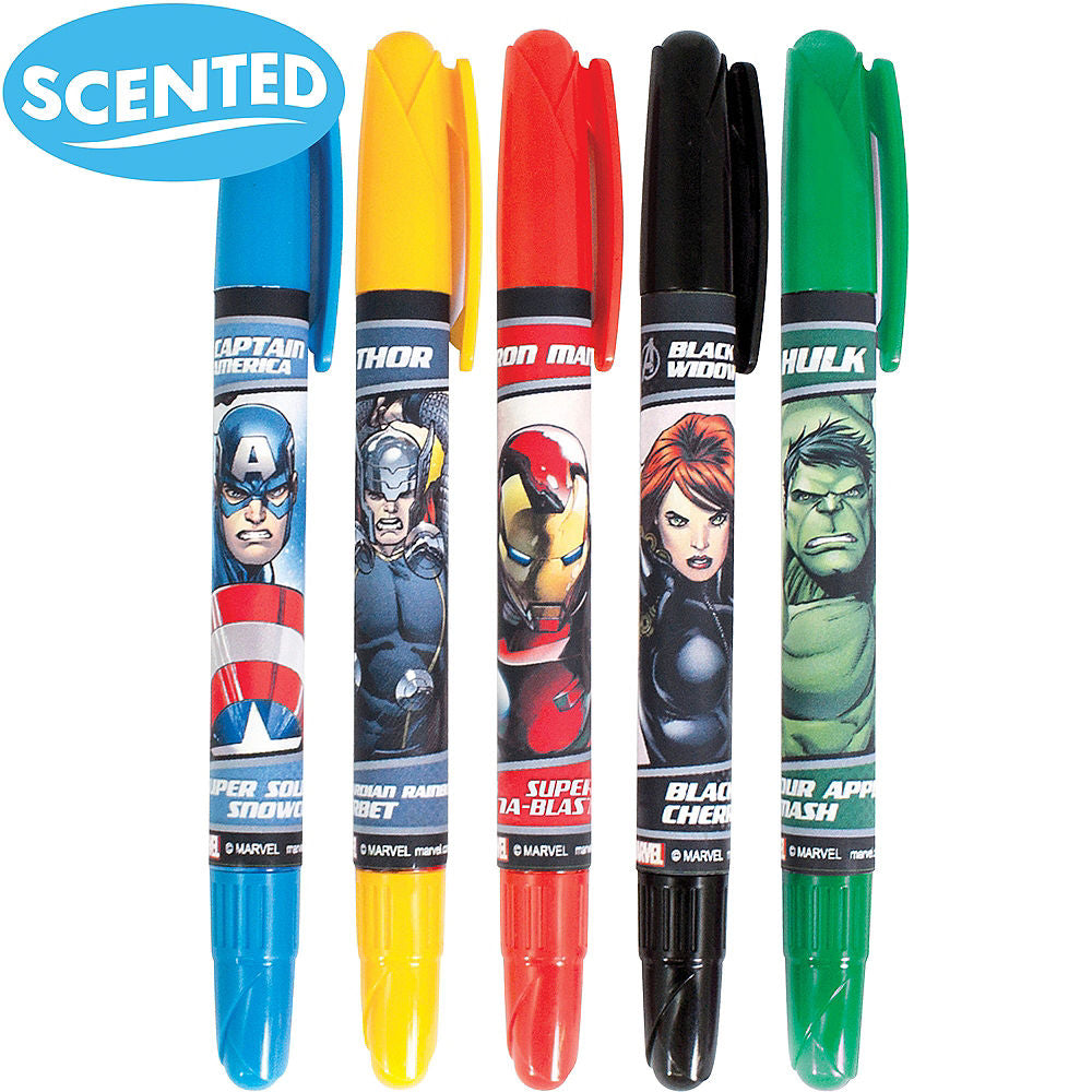 Avengers Scented Gel Crayons