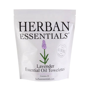 Herban Essentials Wipes Lavender