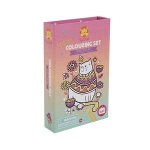Glitter Colouring Set