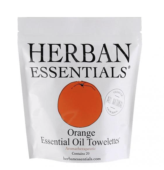 Herban Essentials Wipes Orange