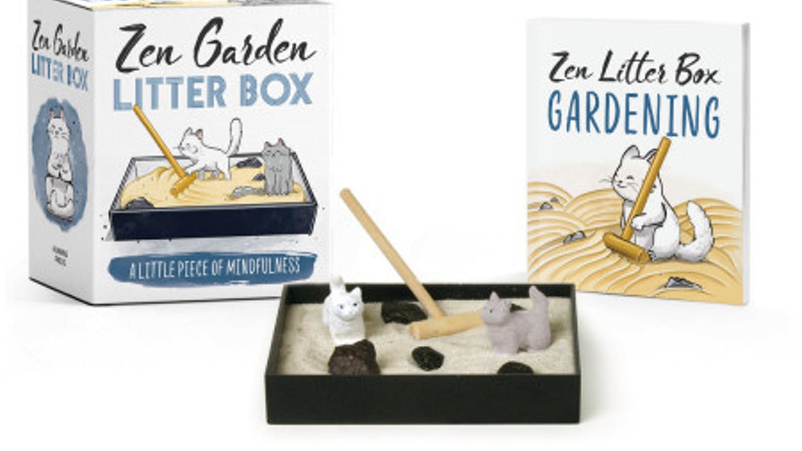 Running Press Zen Garden Litter Box: A Little Piece of Mindfulness