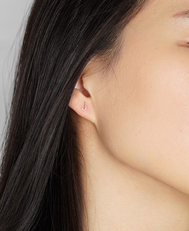 jj+rr Initial Earrings