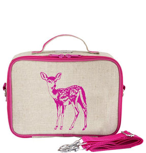 So Young Pink Fawn Lunch Box