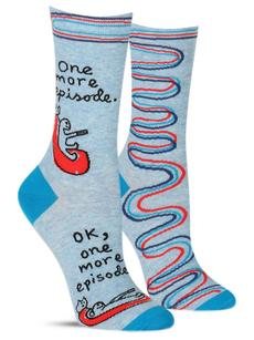 Blue Q Womens One More Episode Sock
