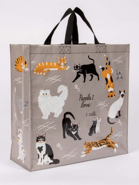 I Love Cats Shopping Tote