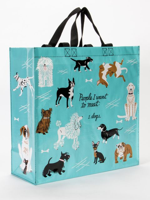 I Love Dogs Shopping Tote