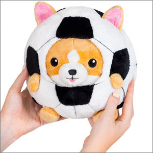 Squishable Undercover Corgi in Soccer Ball
