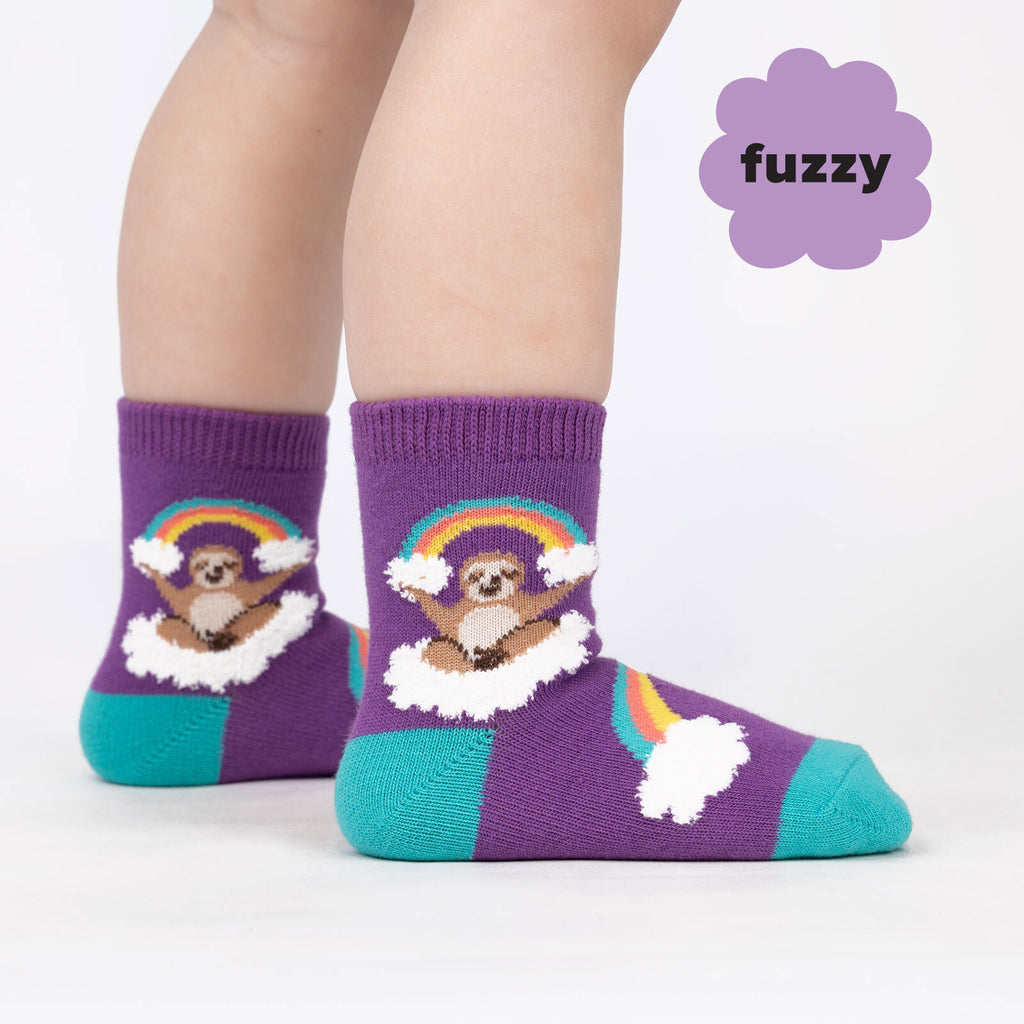 Toddler Crew Sock (ages 1-2 yrs)