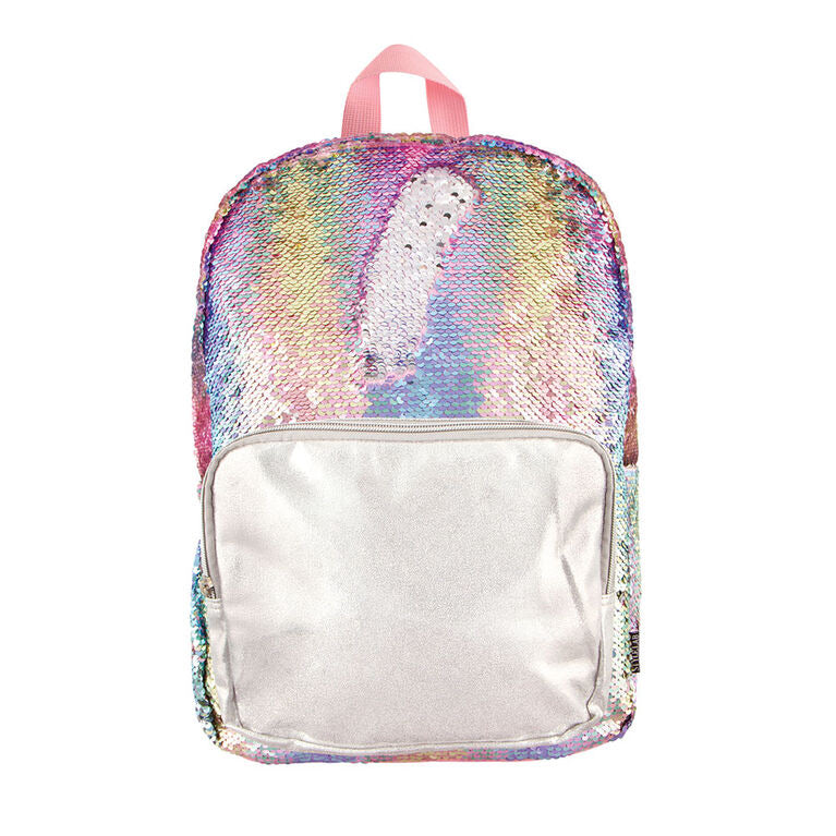 Fashion Angels Pastel Gradient Sequin Backpack