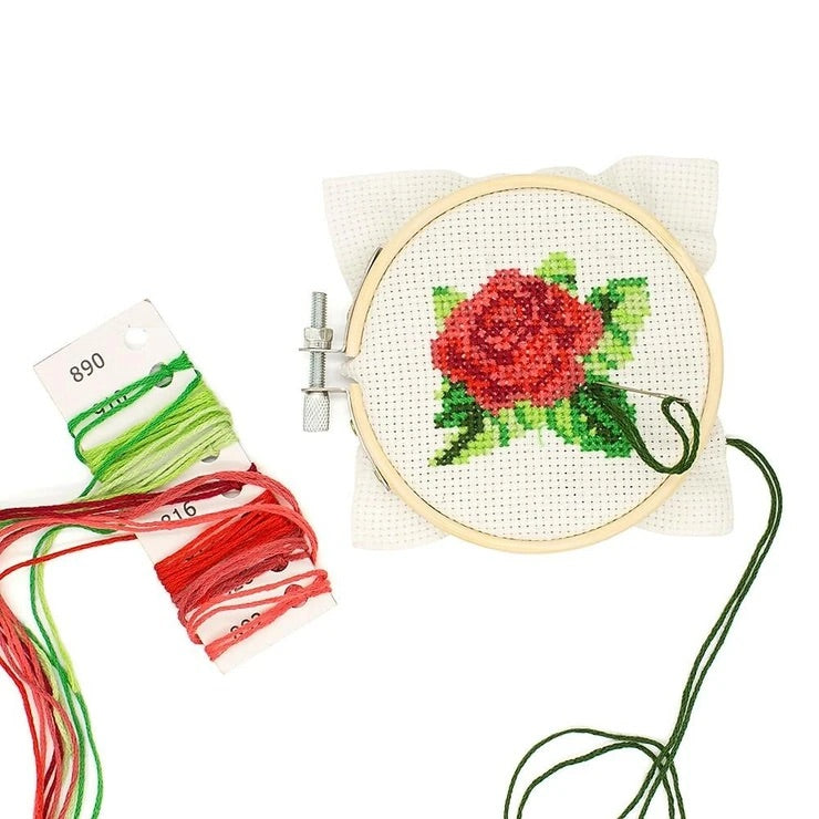 Kikkerland Mini Cross Stitch set