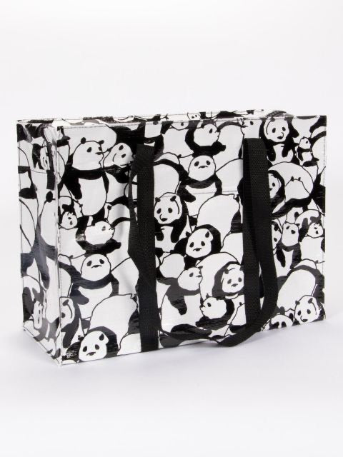 Blue Q Shoulder Tote Pandas