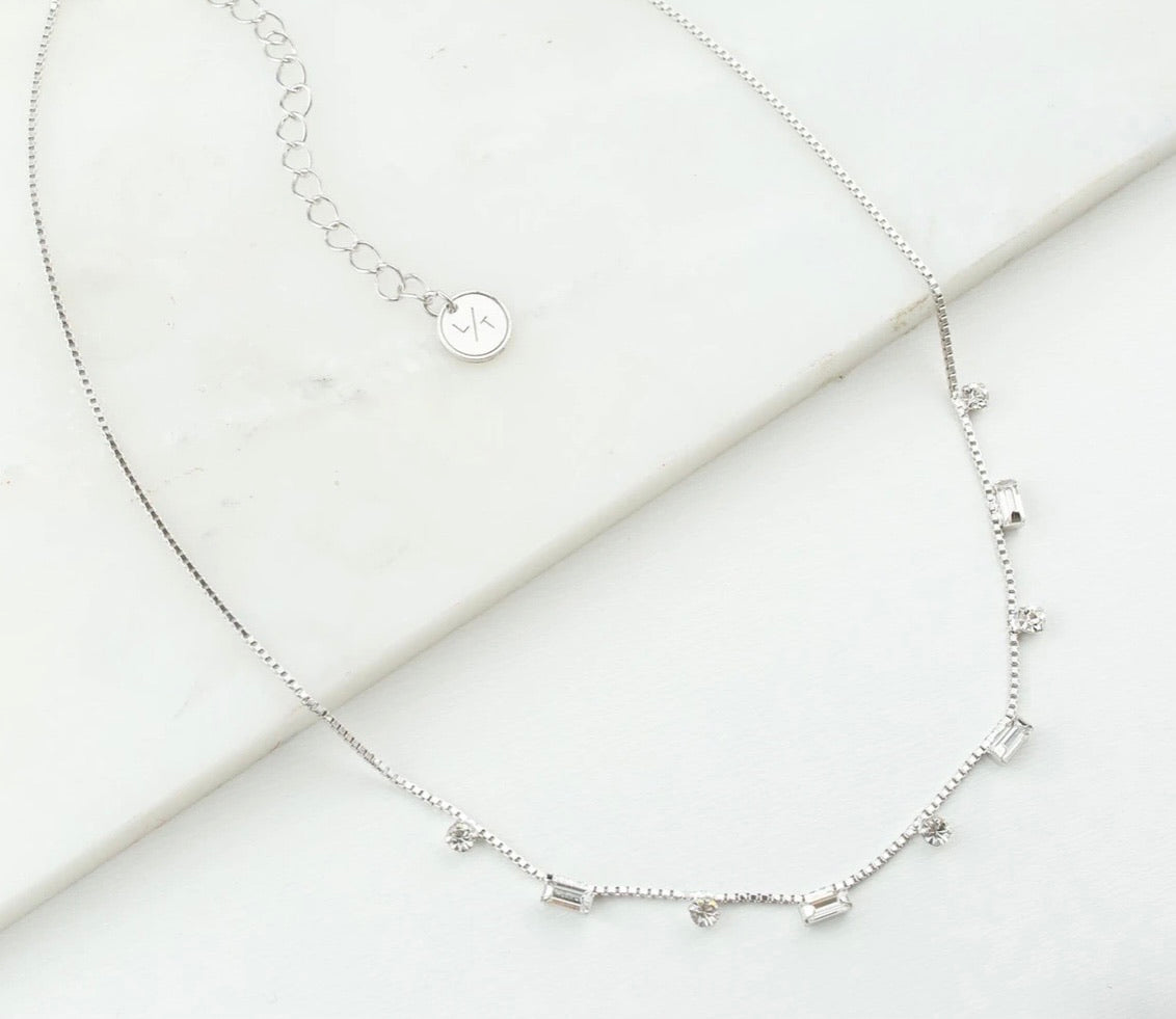 Lover's Tempo Josie Crystal Necklace