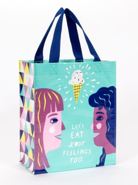 Blue Q Eat My Feelings Handy Tote