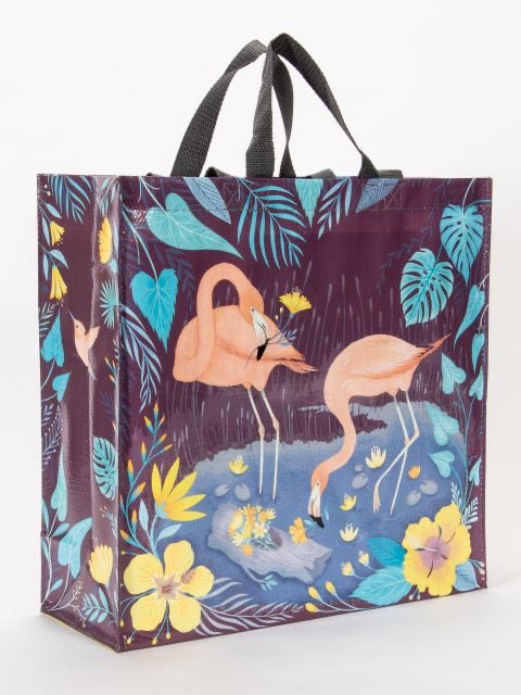 Blue Q Flamingo Shopper